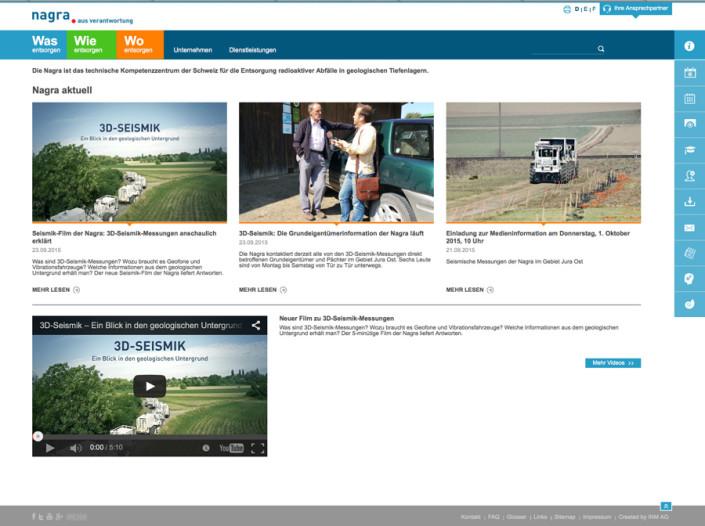 Relaunch Nagra-Site